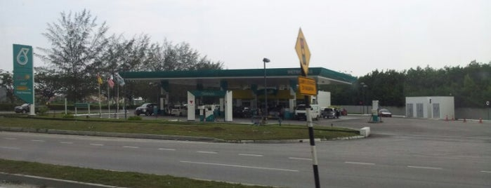 PETRONAS Station is one of b.