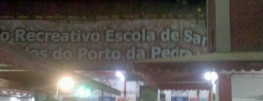 G.R.E.S Porto da Pedra is one of Escolas de Samba do Rio de Janeiro.