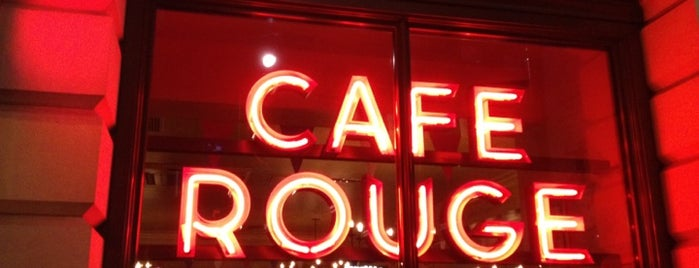 Café Rouge is one of time out london.