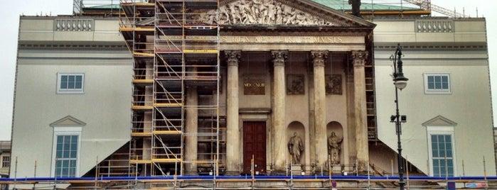 Staatsoper Unter den Linden is one of Berlin, Germany.