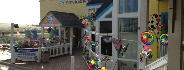 Kitty Hawk Kites is one of Places in the OBX.
