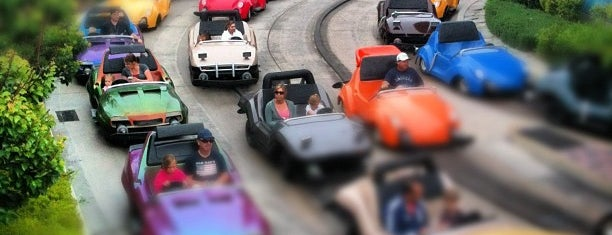Autopia is one of Rides I Done...Rode.