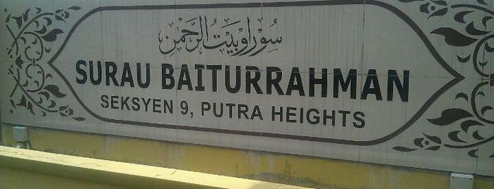 Masjid Baiturrahman is one of masjid.