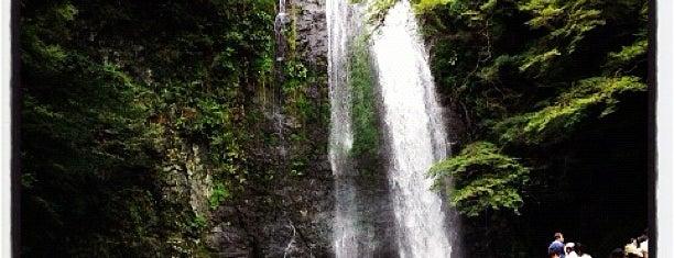Mino Falls is one of 日本の滝百選.