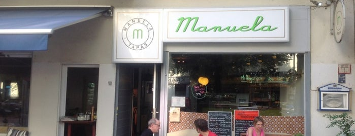 Manuela Tapas is one of Favourite Berlin Dinner Places.