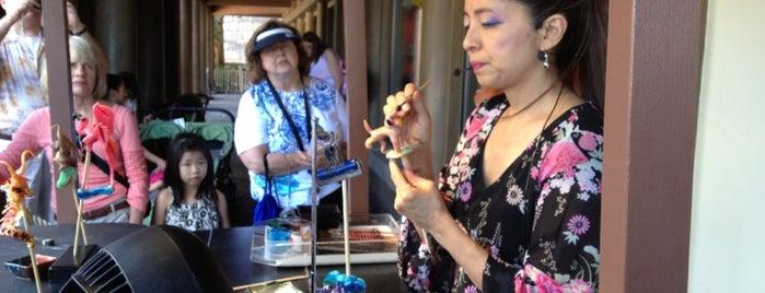 Miyuki the Candy Lady is one of Walt Disney World - Epcot.