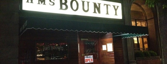 The HMS Bounty is one of LA's Best Dive Bars.