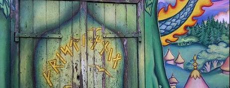 Christiania is one of I Love Copenhagen! #4sqcities.