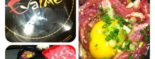 Evaime Shabu Shabu is one of Top picks for Japanese and Korea Restaurants.