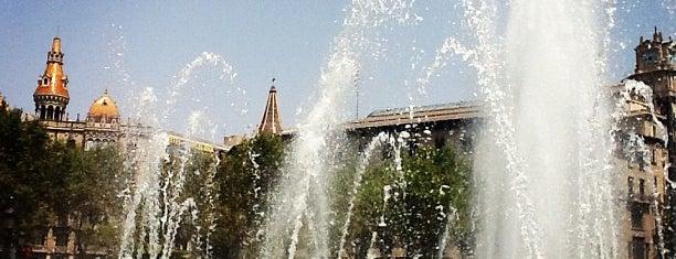 Plaça de Catalunya is one of Barcelona.