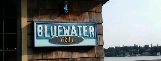 Blue Water Grill is one of surviving syracuse.