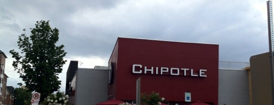 Chipotle Mexican Grill is one of Virginia/Washington D.C..