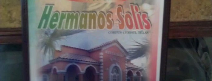 Hermanos Solis is one of Taco Shops.