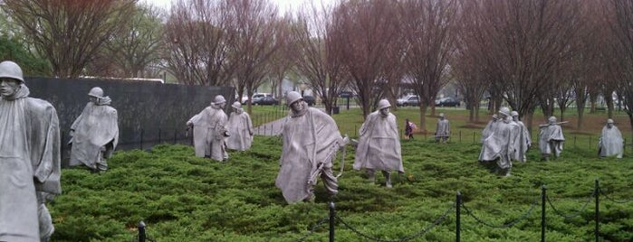 Korean War Veterans Memorial is one of ♡DC.