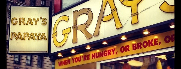Gray's Papaya is one of As seen on Movies.