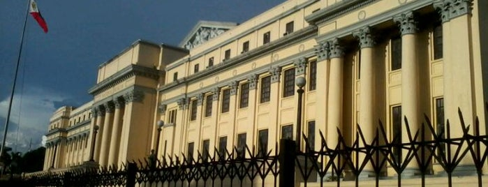 National Museum of the Philippines is one of Manila.