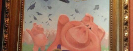 The Great Piggy Bank Adventure is one of Walt Disney World - Epcot.