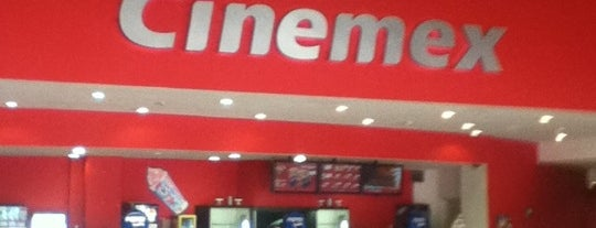 Cinemex is one of lugarsitos.