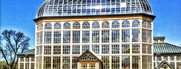 Howard Peters Rawlings Conservatory is one of December bucket list.