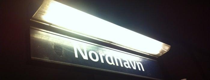 Nordhavn st. is one of Copenhagen.