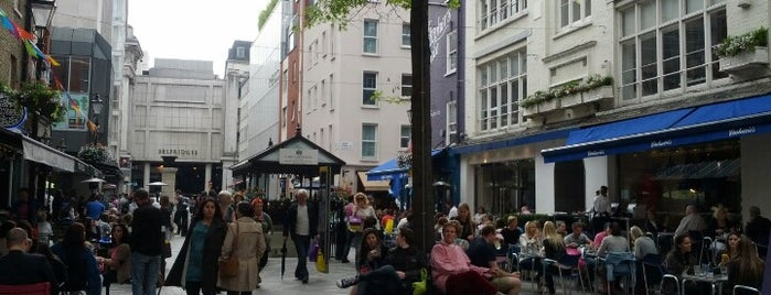 St Christopher's Place is one of London 🇬🇧.