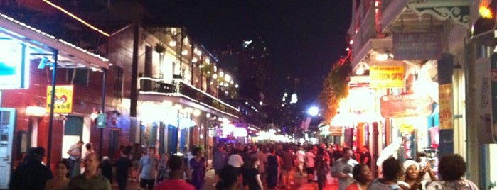 Bourbon Street is one of Paranormal Traveler.
