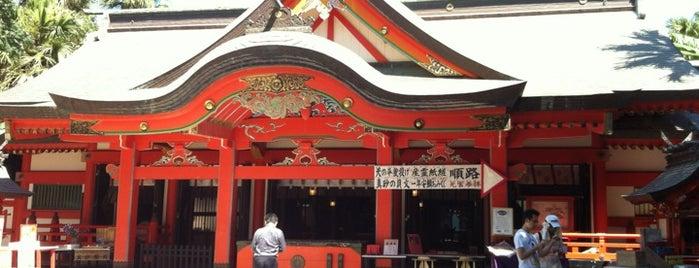 Aoshima Shrine is one of 神社.