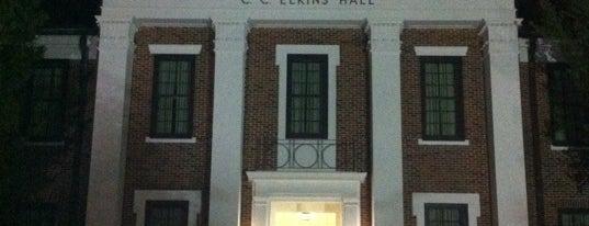 Charles C. Elkins Hall is one of Nicholls State University.