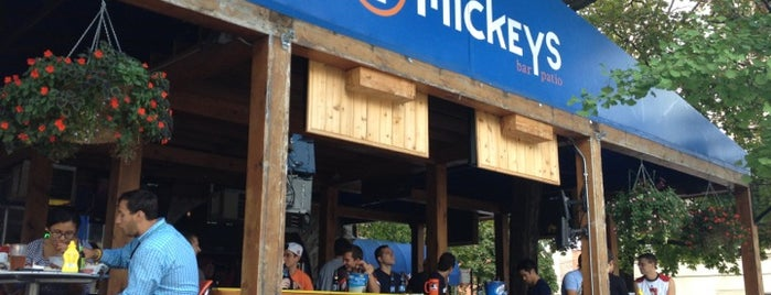 Mickey's Bar & Patio is one of Chicago Bulls Bars in Chicago.