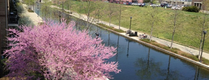 Canal Walk is one of Exploring Indy #4sqCities #VisitUS.