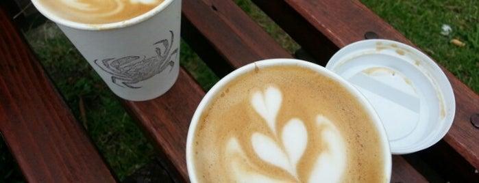 Prufrock Coffee is one of Hackney Coffee, yeah!.