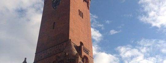 Grunewaldturm is one of Grün und Blau Berlin.