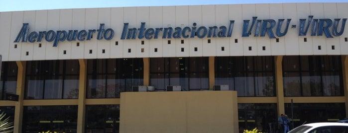 Viru Viru International Airport (VVI) is one of Alex.