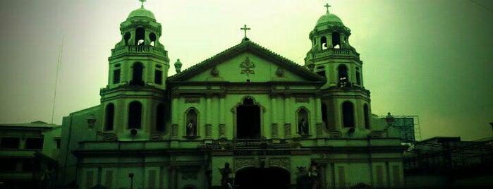 Minor Basilica of the Black Nazarene (Quiapo Church) is one of Manila.