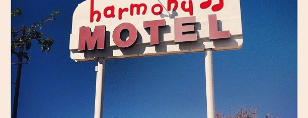 Harmony Motel is one of Historic Hotels to Visit.