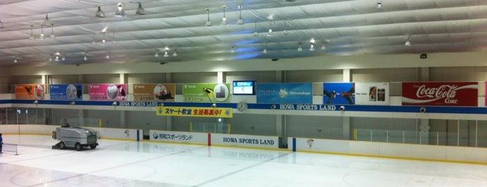 邦和スポーツランド is one of スケートリンク.