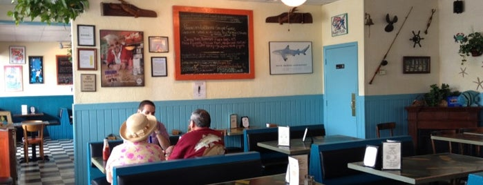 Keegan's Seafood Grille is one of Diners, Drive-Ins, and Dives- Part 2.