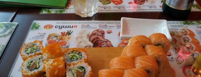 Сушия / Sushiya is one of Суши на ПОХ'е.