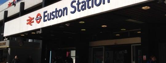 London Euston Railway Station (EUS) is one of Stations.