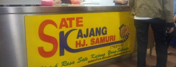 Sate Kajang Haji Samuri is one of Eating Places.