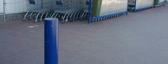 Tesco is one of my places.