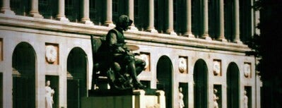 Museo Nacional del Prado is one of Dieter's favourite spots in Madrid.