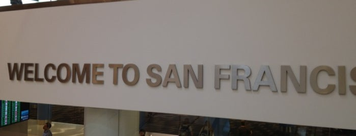 Aeroporto Internacional de São Francisco (SFO) is one of Free WiFi Airports.
