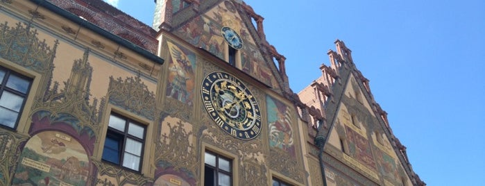 Rathaus is one of Ulm.