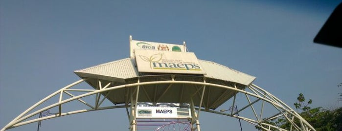 Malaysia Agro Exposition Park Serdang (MAEPS) is one of b.