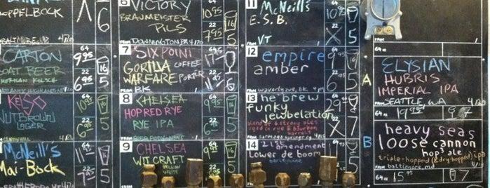 Bierkraft is one of Good Beer Seal bars.