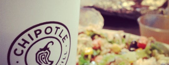 Chipotle Mexican Grill is one of Places tried: recommend.