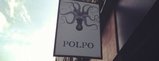 Polpo is one of STA Travel London Foodie Favorites.