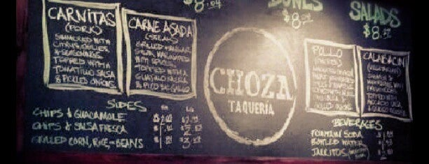 Choza Taqueria is one of manhattan restaurants.