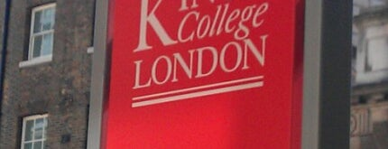 King's College London - Strand Campus is one of Hand Drawn Map of London.